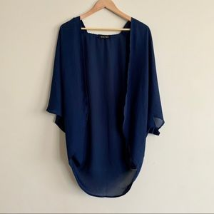 Blue light summer shrug